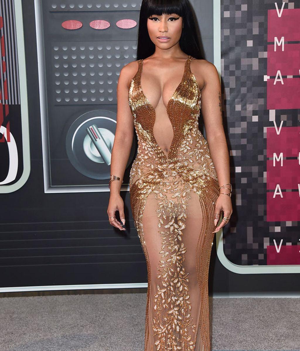 Nicki Minaj de Labourjoisie en los premios MTV