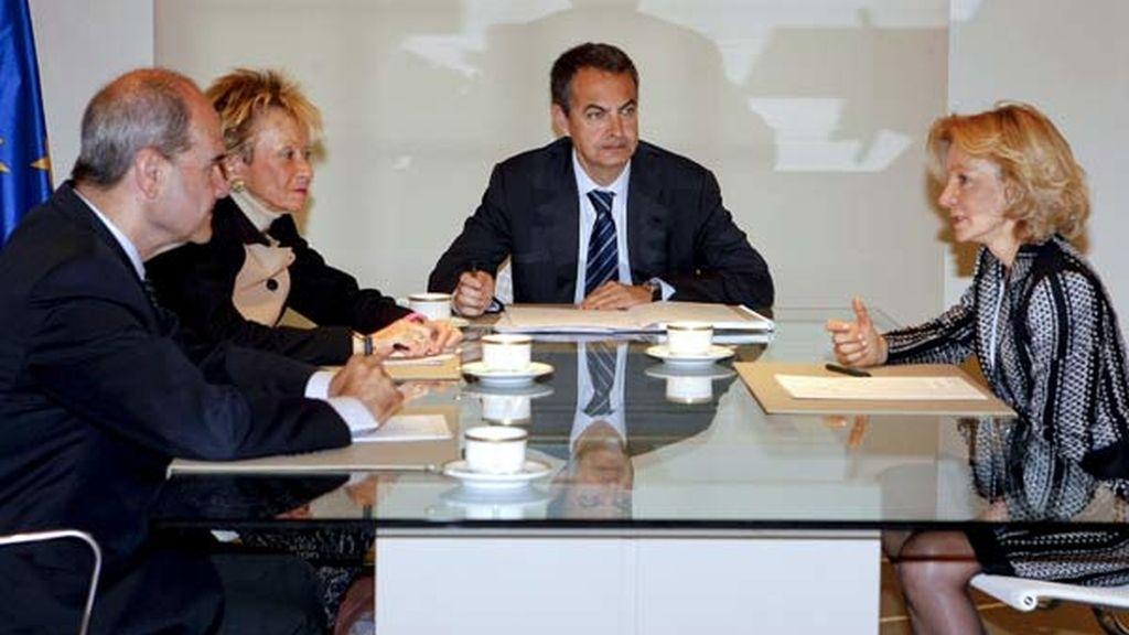 Reunión en Moncloa