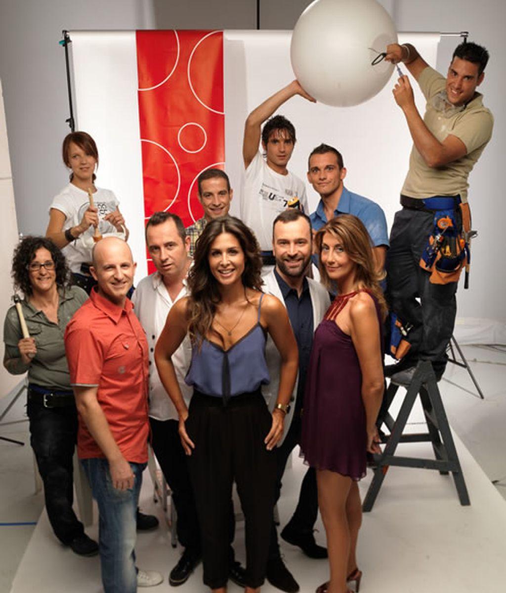 El equipo del programa