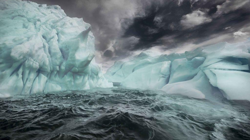 La belleza de los icebergs