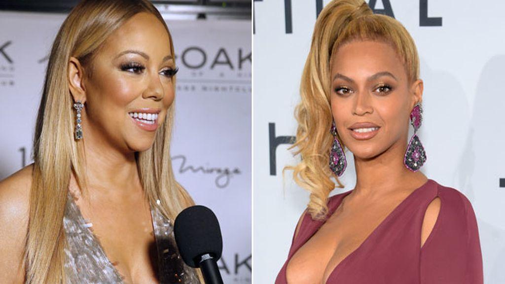 Mariah Carey lanza el ordenador por la ventana tras reproducir una canción de Beyonce