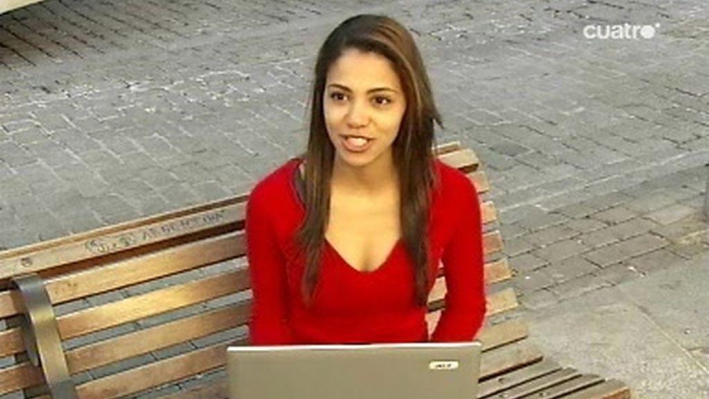 Sofía, la española con más amigos en una red social