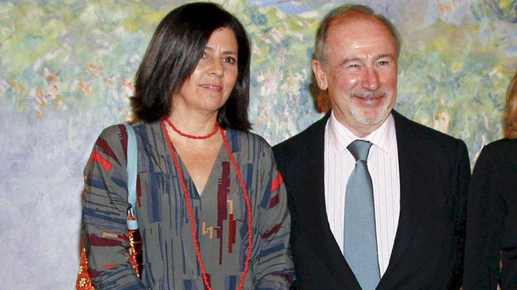 Ángeles Alarcó, exmujer de Rodrigo Rato, es presidenta de Paradores de Turismo