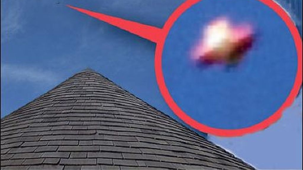 Naves extraterrestres o misteriosos objetos volantes