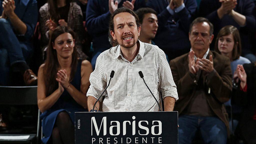 """Iglesias: """"El PSOE está dominado por intransigentes que prefieren pactar con la derecha"""""""