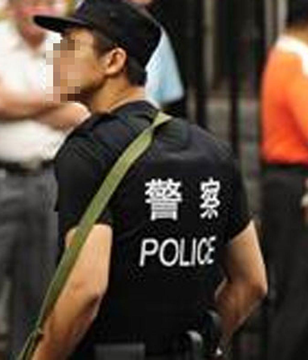 Policía chino