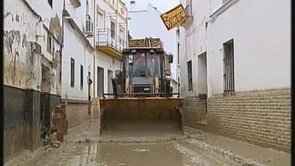 Écija se vuelve a inundar