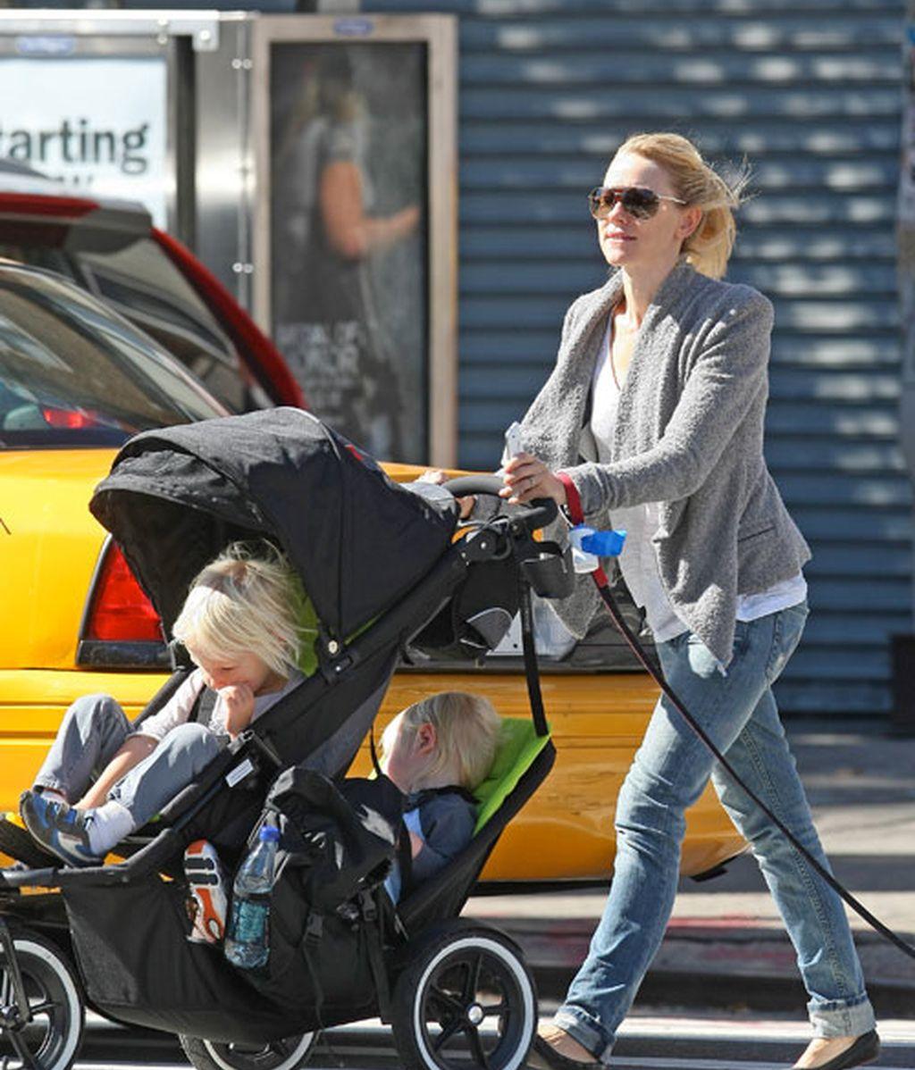 Los cochecitos de las baby-celebrities