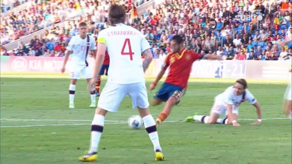 España dominó a Noruega en los primeros minutos