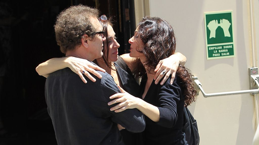 Juan Gea, Natalia Millán y Silvia Marsó