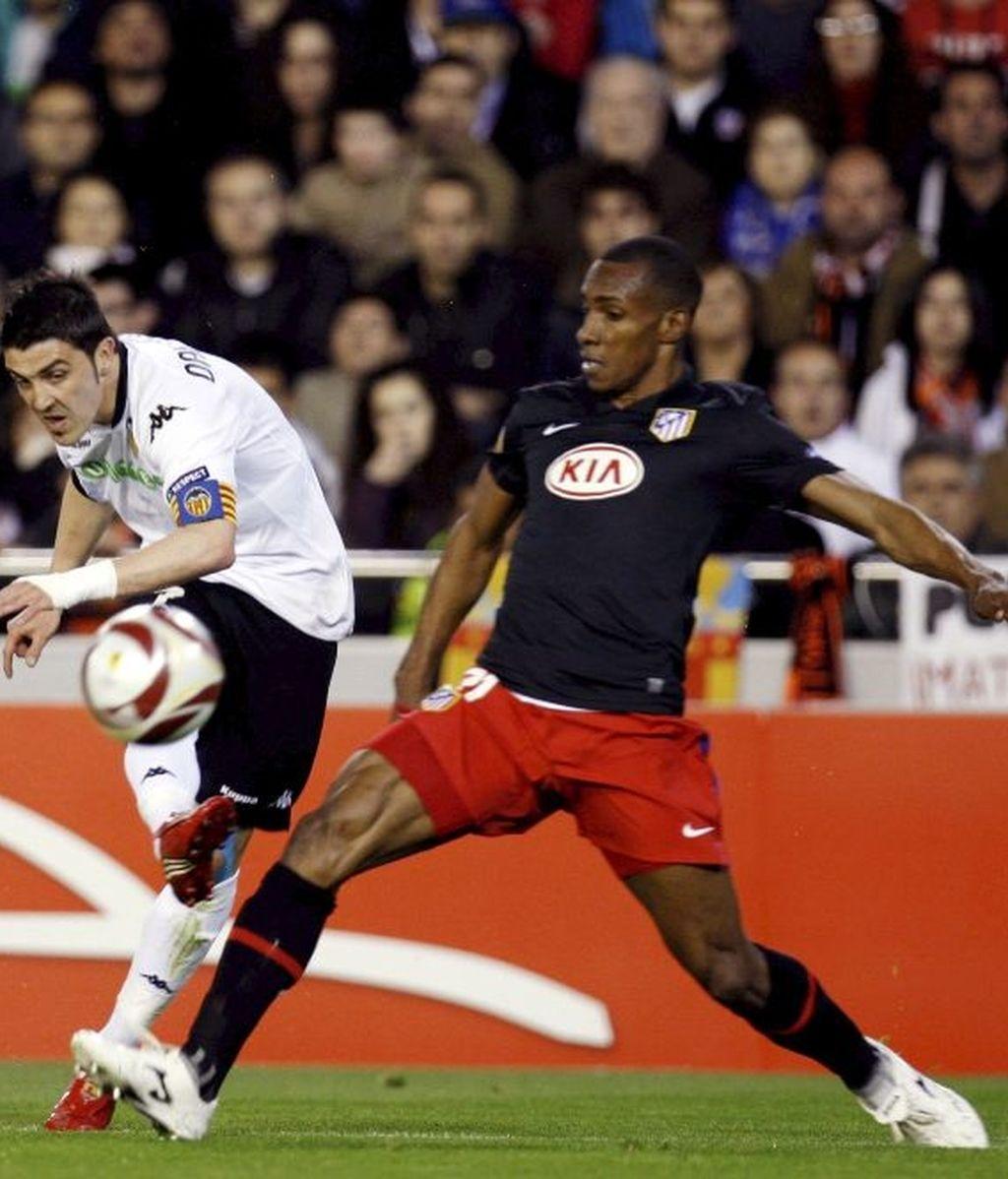 El Valencia centra su ataque en Villa