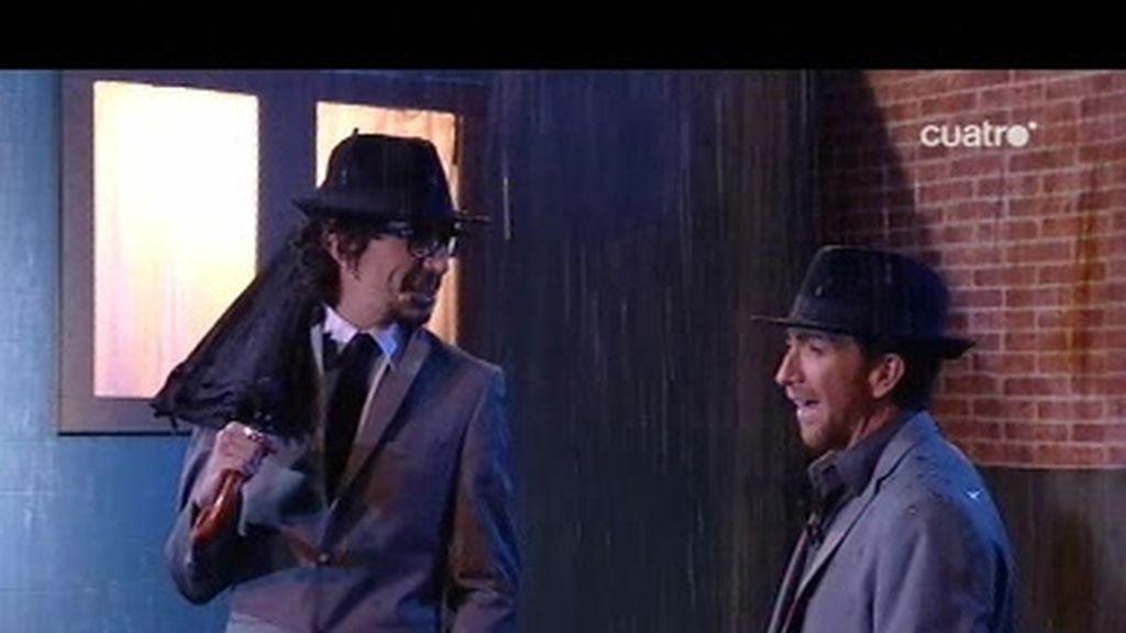Toma buena: Bailando bajo la lluvia