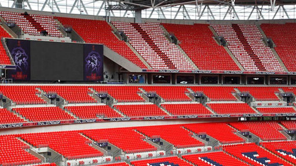 El mágico estadio de Wembley