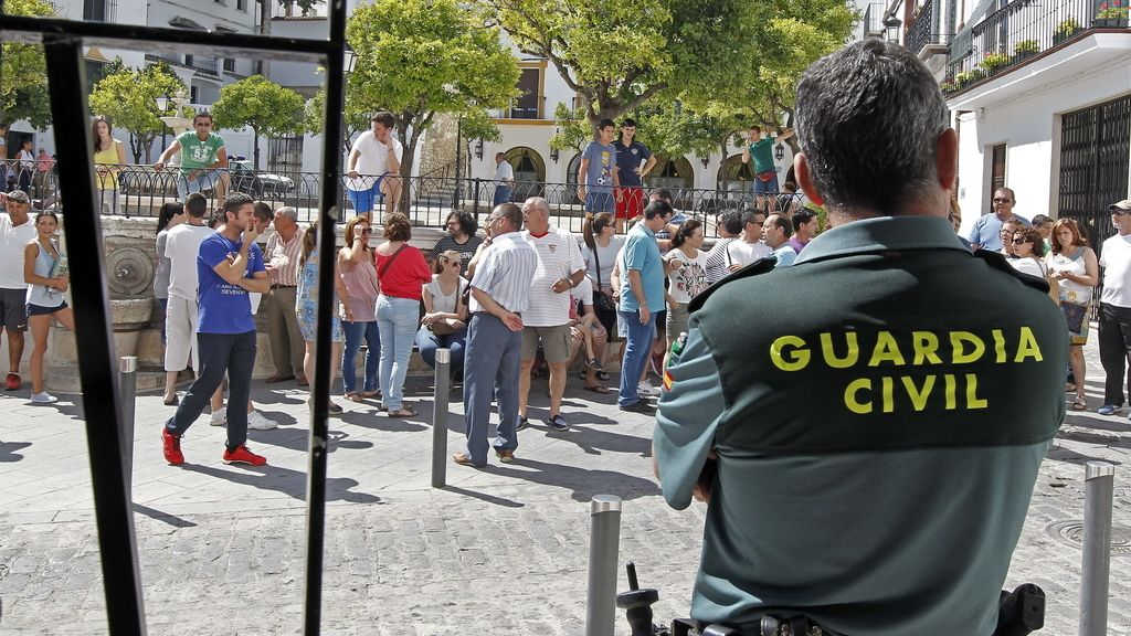 Piden calma a los vecinos de Estepa, Sevilla