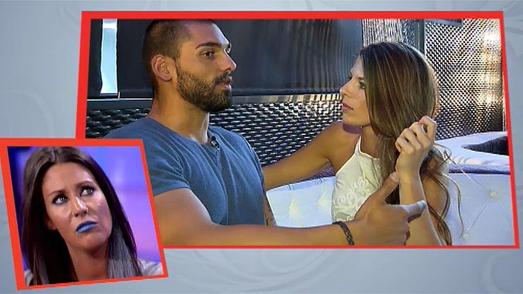 """Isaac, a Alicia: """"Contigo veo más 'feeling' que con Mery"""""""