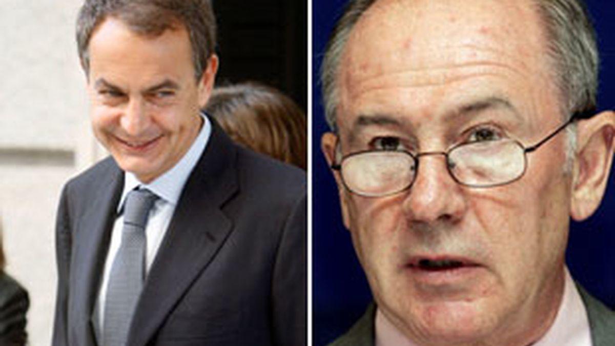 Zapatero asegura que no tiene una posición contraria a que Rato presida Caja Madrid. Vídeo: ATLAS.