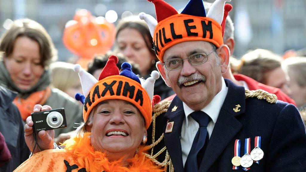 Los holandeses, con los nuevos reyes
