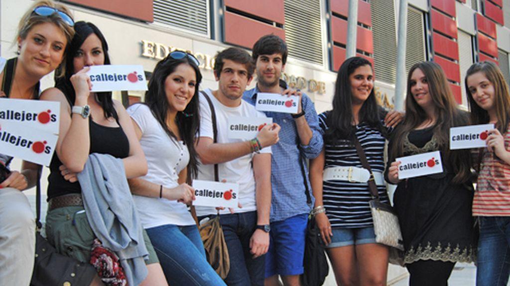 Estudiantes de periodismo y com. audiovisual
