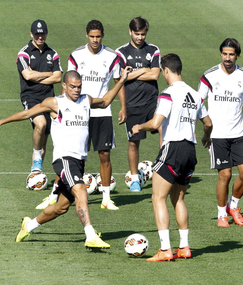 Entrenamiento del Real Madrid