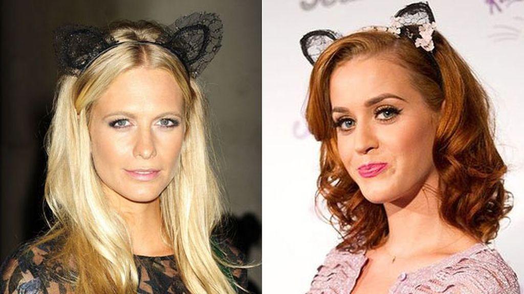 Poppy Delevingne y Katy Perry, las orejitas femeninas