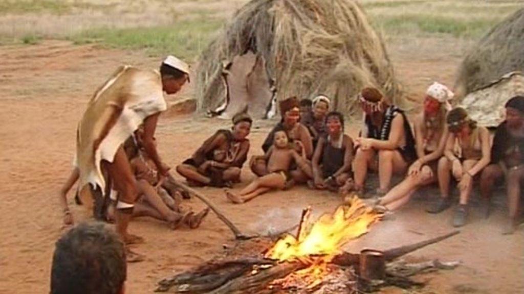IMÁGENES INÉDITAS: Cocinando una riquísima cabeza de gacela