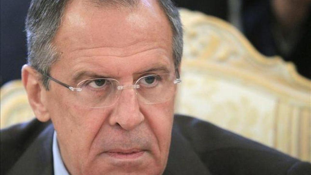 Sergei Lavrov, ministro de exteriores ruso, en una imagen de archivo