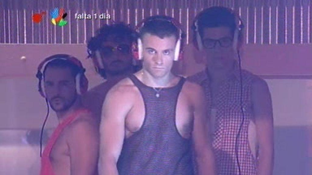 Coreografía Fuego de los bailarines de Rafa Méndez