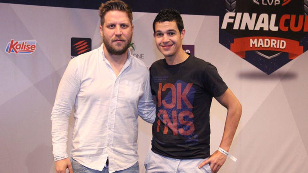Dani Meroño y Sergio González, comentaristas de FIFA