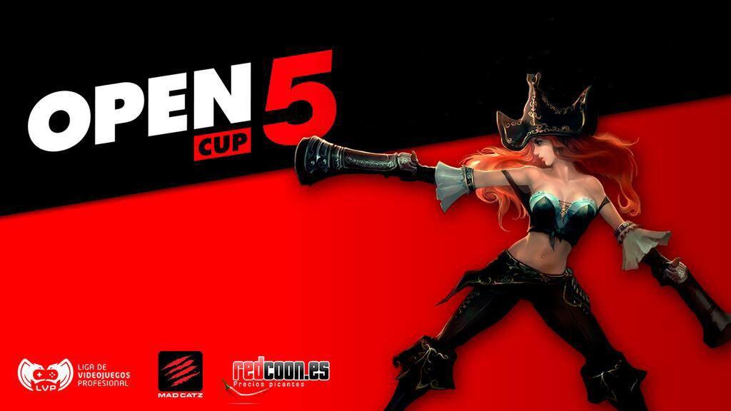 Open Cup, LVP, eSports, torneo