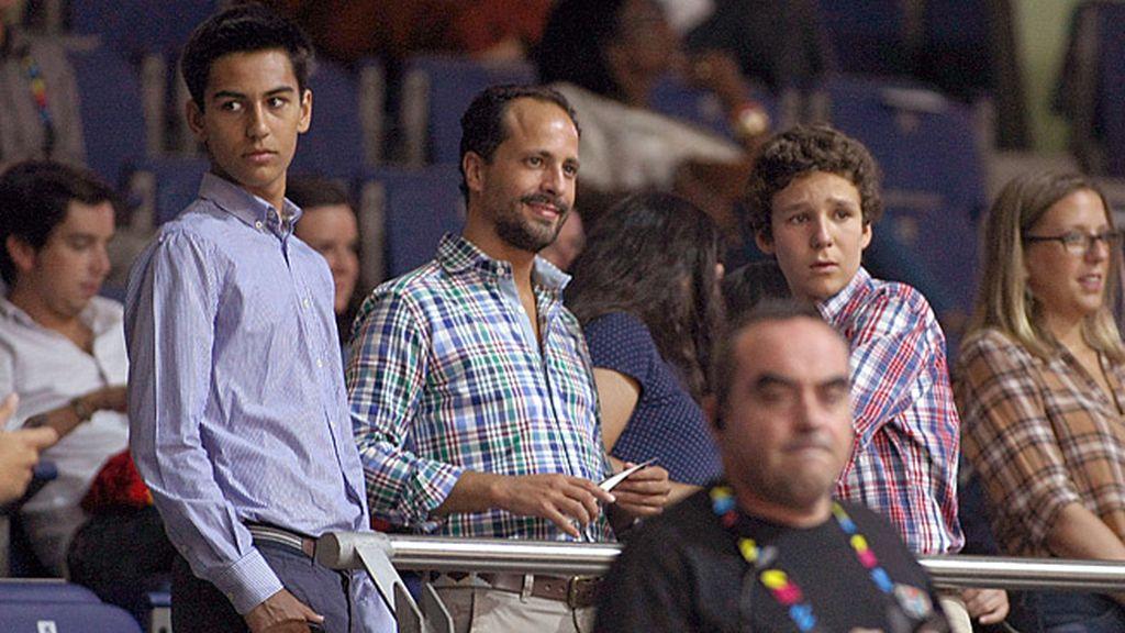 El hijo de la infanta Elena, Felipe Juan Froilán lo vivió junto a unos amigos