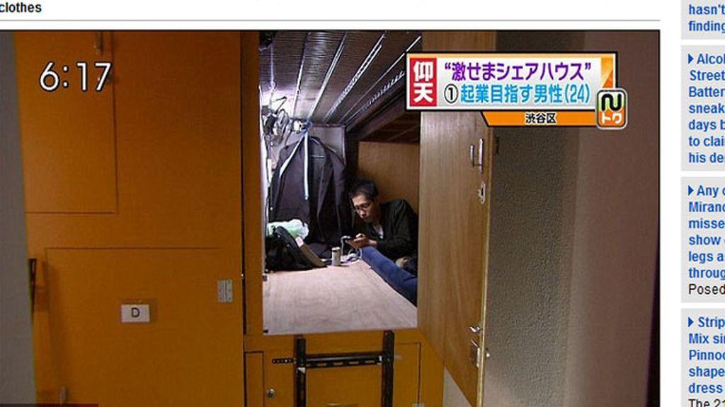 Viviendo en cajas de metro y medio