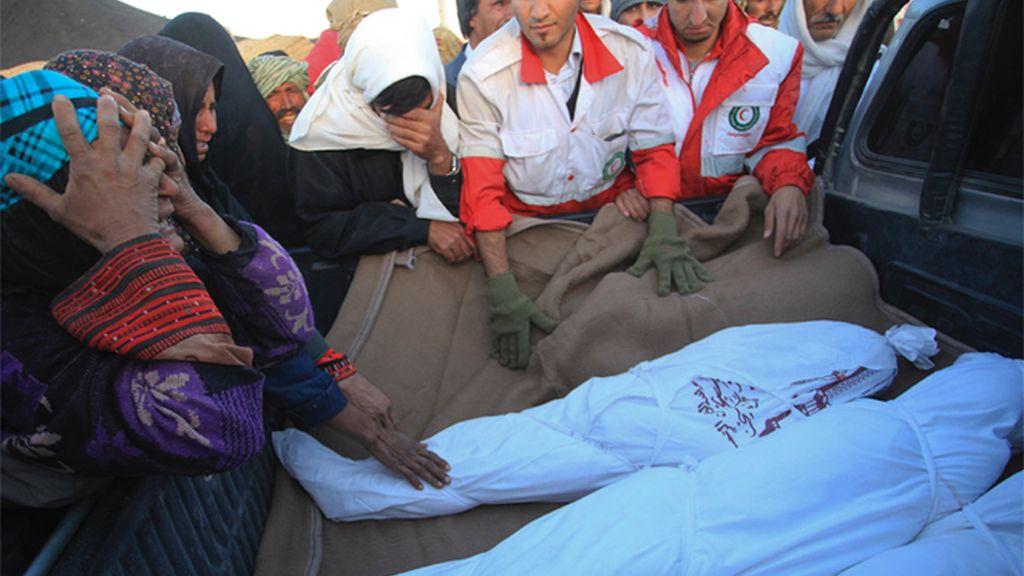 Al menos siete muertos y cientos de heridos por un seísmo en Irán