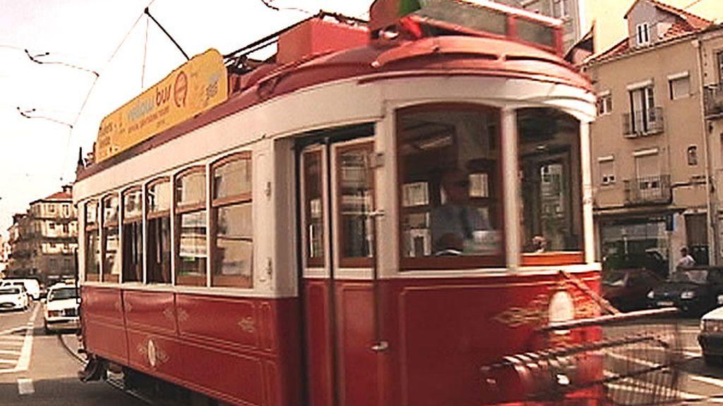Típico tranvía de Lisboa