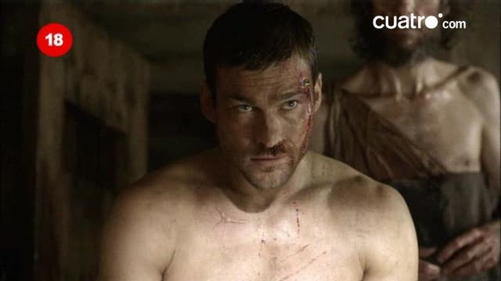 Crixus no perdona a Espartaco