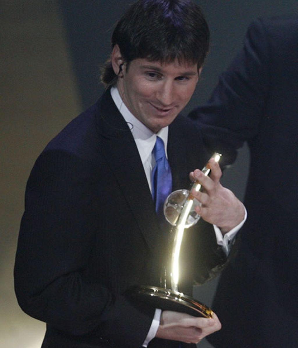 Leo Messi lo gana todo