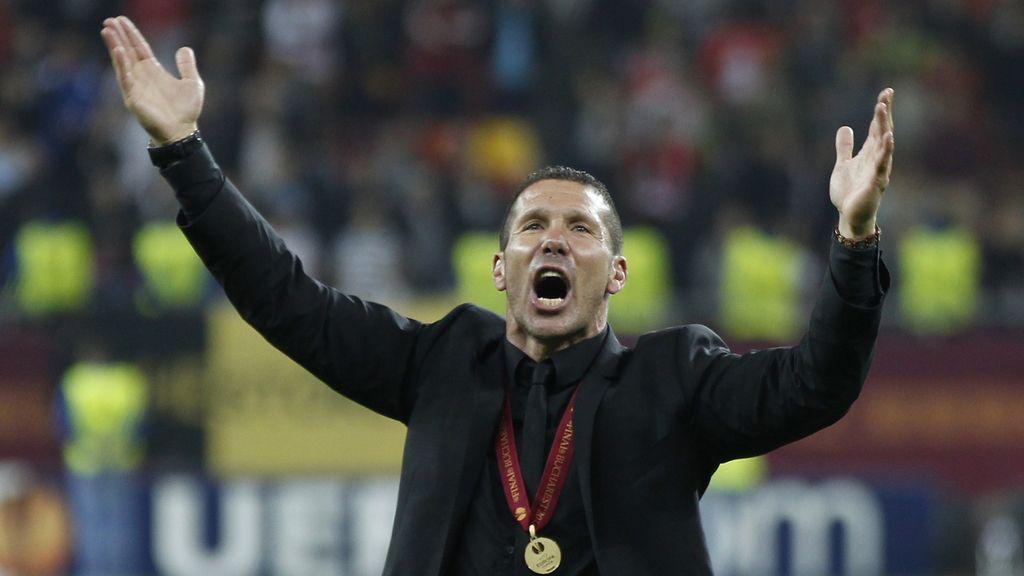 Simeone lleva a la gloria al Atlético