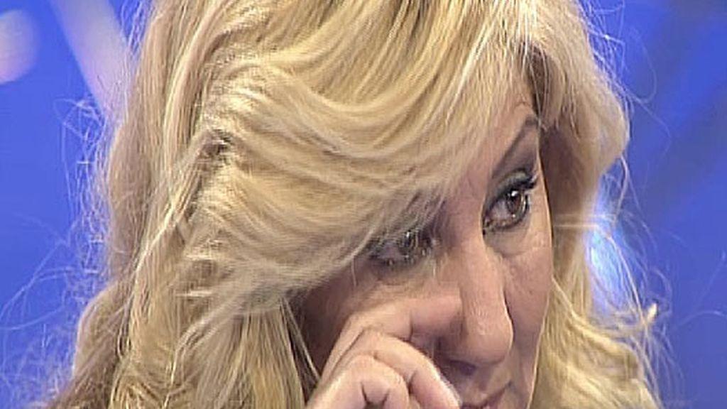 Pepa rompe a llorar en 'El Debate'