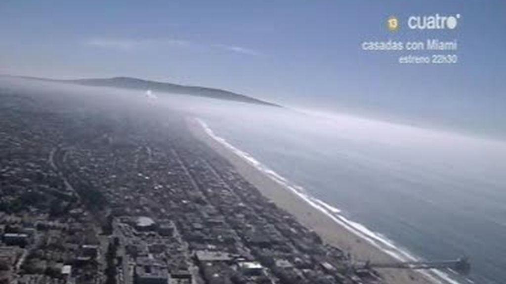 Ángeles de California, desde las alturas