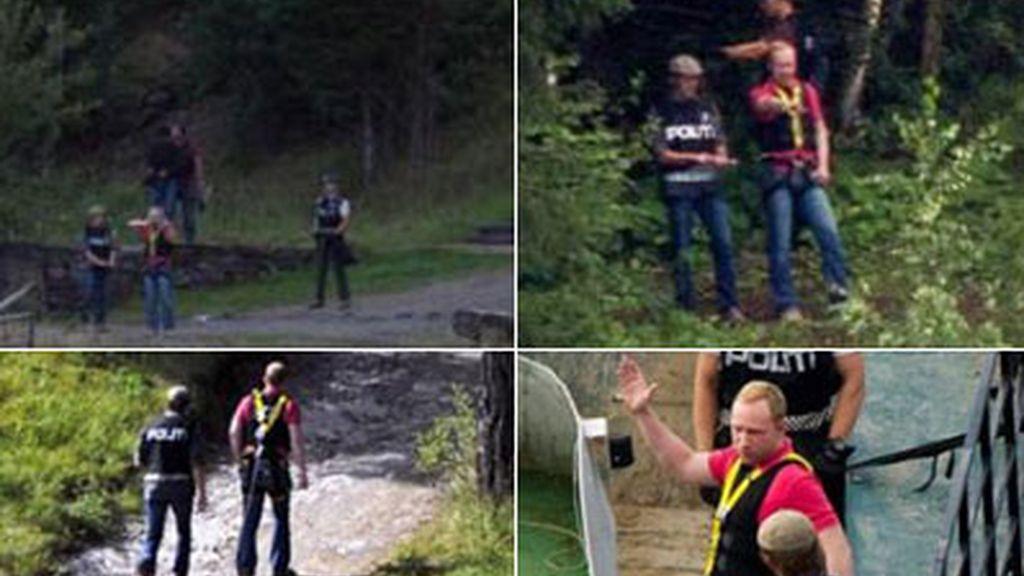 Breivik vuelve a Utoya para reconstruir sus crímenes con la policía