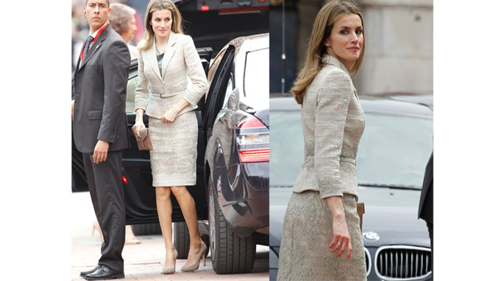 La princesa Letizia en Valladolid