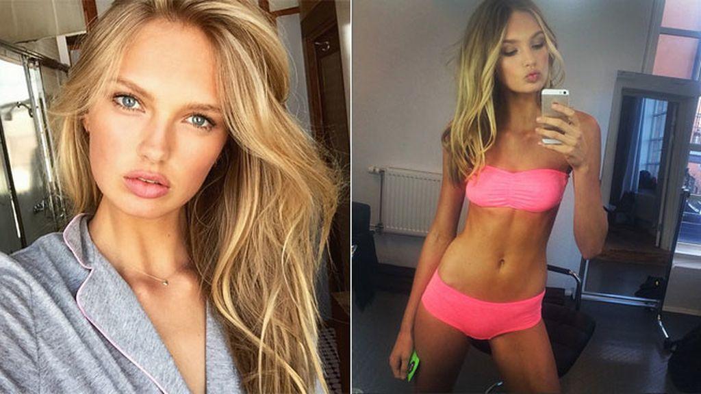Romee Strijd es de las Victoria's Secret más joven