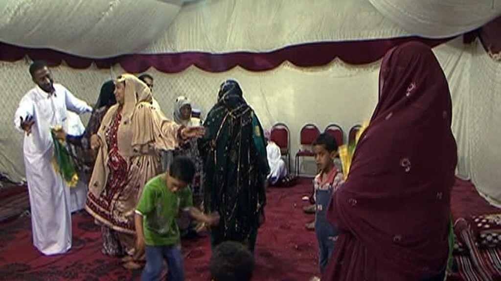 Una ceremonia en Dubai