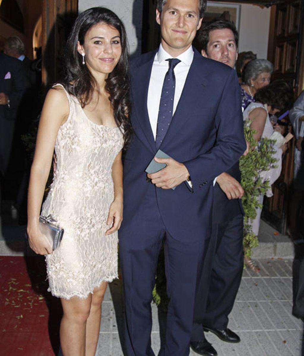 Fernando Solís junto a su mujer, Eva Morejón