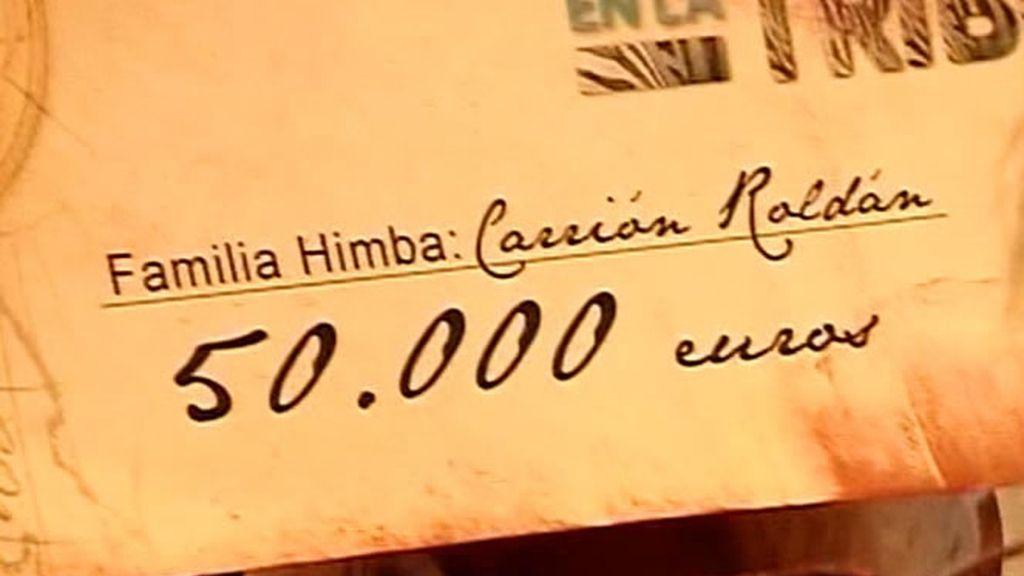 50.000 euros de premio para cada familia