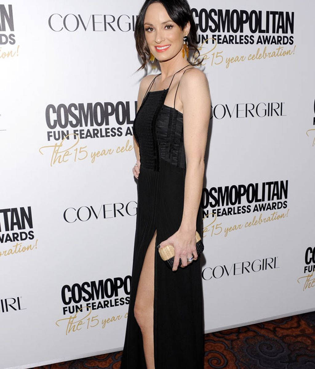 Dakota Fanning ya se viste de mujer; Miranda Lambert, con el 'picardías'