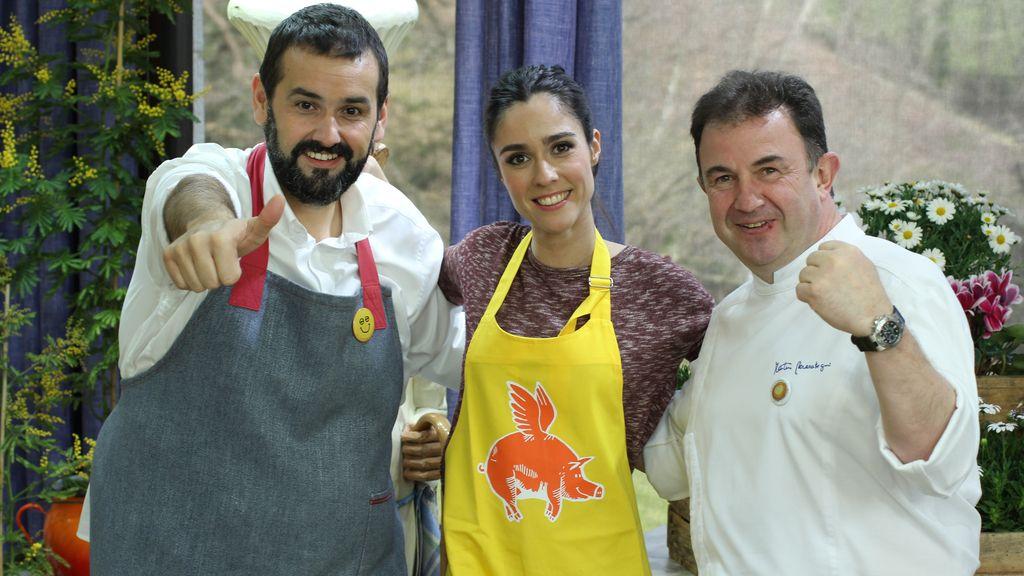 Alba Lago en 'Robin Food'