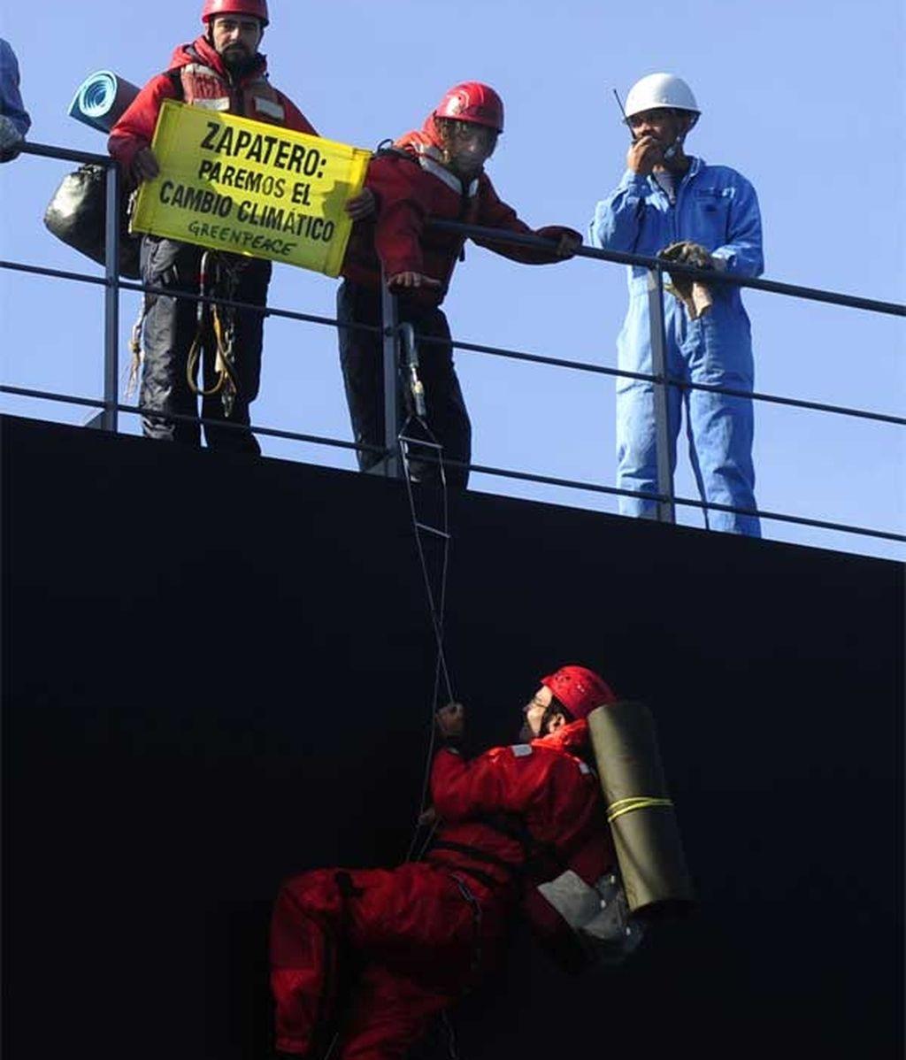 Acción de Greenpeace
