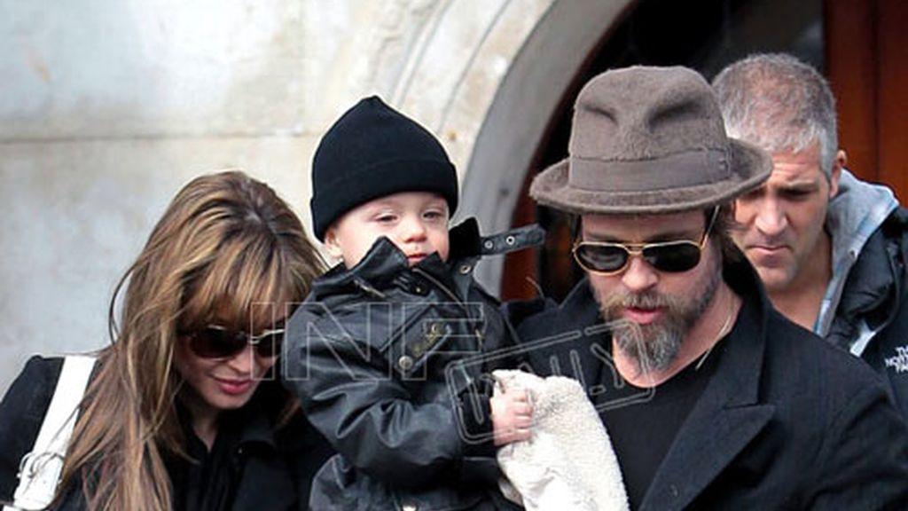 Y Knox con papá