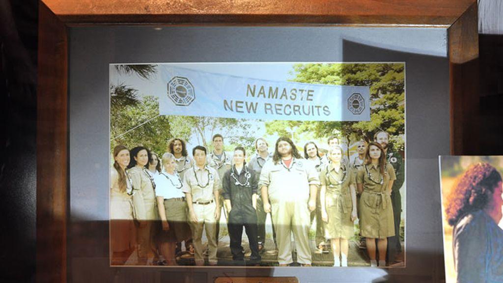 Foto de grupo equipo Dharma