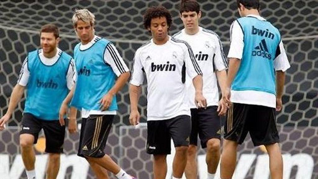 Sahin, Callejón, Varane y Coentrao ya ejercen de madridistas